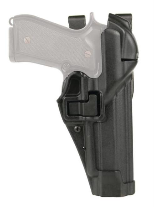 Blackhawk Level 3 Serpa Auto Lock Duty S&W M&P 9mm/.40 S&W, Black, RH