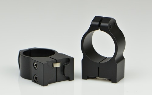 Warne Ruger 1 Inch Ruger M77, PA, Med Matte Rings, Fits M77 & Hawkeye Grooved Receiver