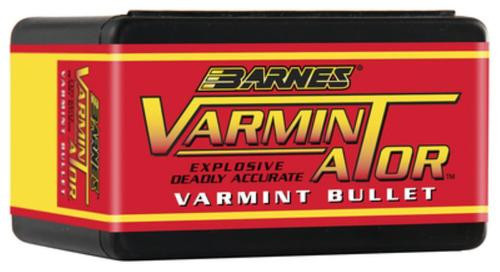 Barnes Varmin-A-Tor Reloading Bullets 6mm Caliber .243 Diameter 72gr, Hollow Point Flat Base