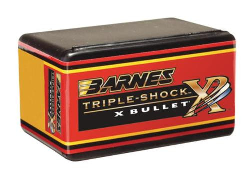 Barnes Triple-Shock X-Bullets Lead Free .30 Caliber .308 Diameter 165gr, Boattail, 50 Box