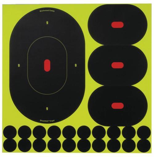 """Birchwood Casey Shoot-N-C Targets 5 Pack, 9"""""""