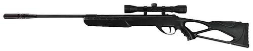 Umarex Surge Air Rifle Combo .177 Pellet, 4x32mm Scope, Synthetic Tactical Stock, Black