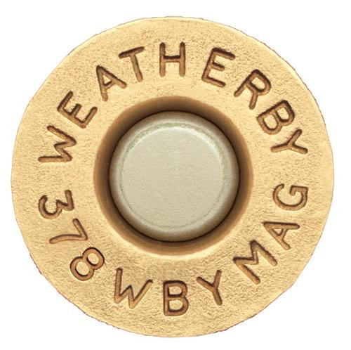 Weatherby Unprimed Brass 378 Weatherby Magnum Lightweight 20 Per Box