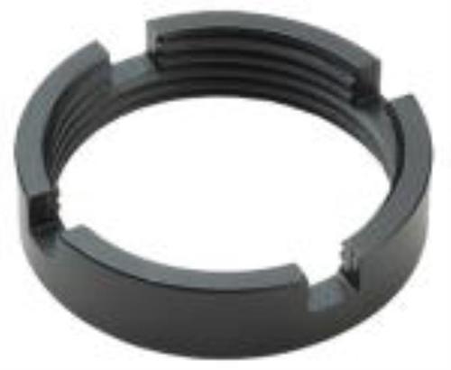 Advanced Technology AR-15 Castle Nut Steel Black