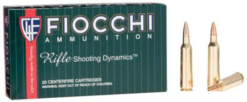 Fiocchi Extrema Hunting .22-250 Rem, 55 Gr, V-Max Boat Tail, 20rd Box