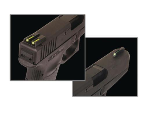 Truglo Tritium Fiber Optic Sight Sig #6 Front/#8 Rear