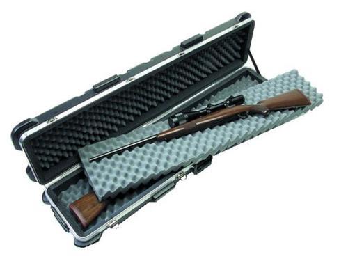 SKB Double Rifle Case, Polyethylene Ribbed Black