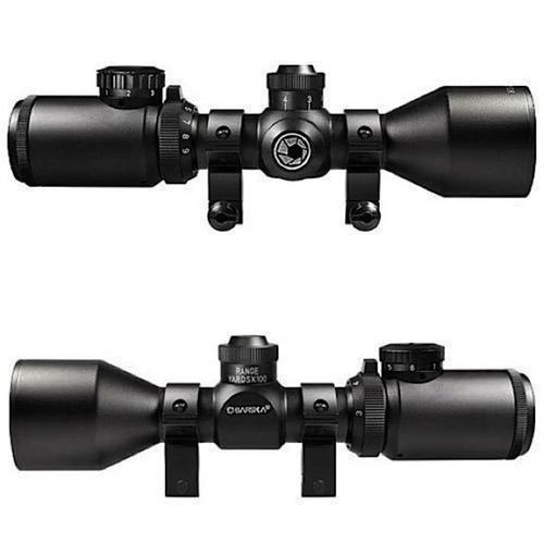 "Barska Contour 3-9x 40mm Obj 36.7-12.5 ft@100yds FOV 1"" Tube Black"