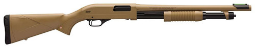 "Winchester Repeating Arms SXP 12 Ga 3"", 18"" Barrel, Flat Dark Earth Finsh, Cylinder Choke, 5 Round, Bead Sight"