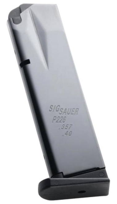 Sig P226 Magazine 40 S&W/357 Sig 10 rd Blued Finish