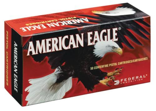Federal American Eagle 45 Colt 225gr, Jacketed Soft Point, 50rd Box