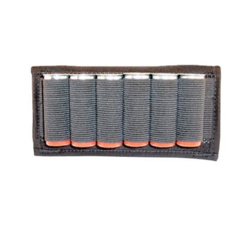 Grovtec Cartridge Slide Holder Any Shotgun Ammo Black Elastic/Nylon