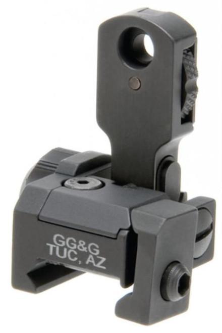 GG&G GGG MAD Flip up rear sight. AR-15