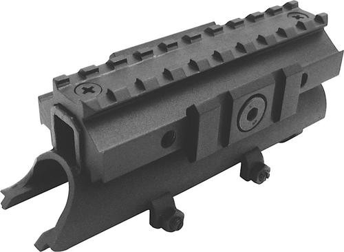 NcSTAR SKS Receiver Cover Scope Mount, Tri-Rail Weaver Scope Mount