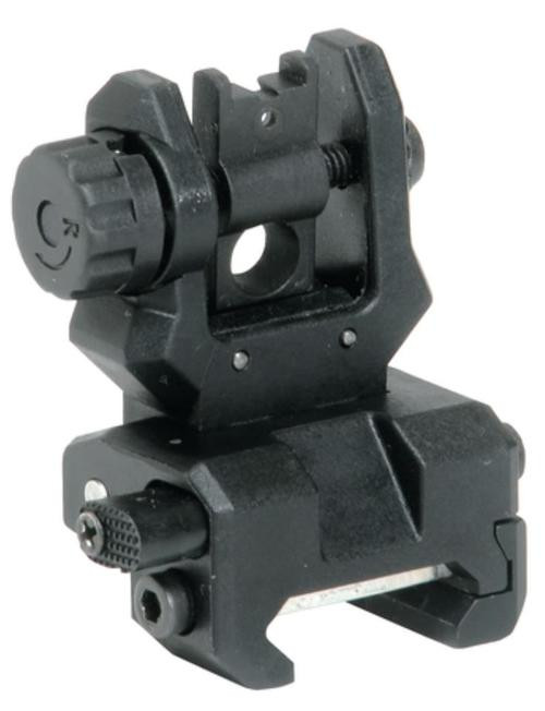 Command Arms Accessories Low Profile Flip Up Rear Sight