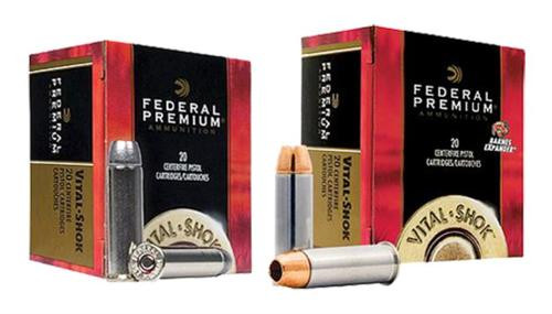 Federal Premium 500 Smith & Wesson Barnes Expander 275gr, 20rd Box
