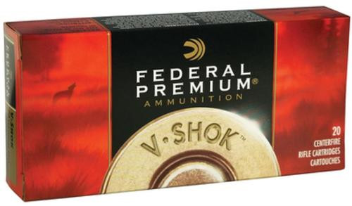 Federal V-Shok .22-250 Remington 55gr, Nosler Ballistic Tip 20rd Box