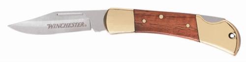 """Winchester 2.5"""" Brass Folder, Folding Sheath Knives"""