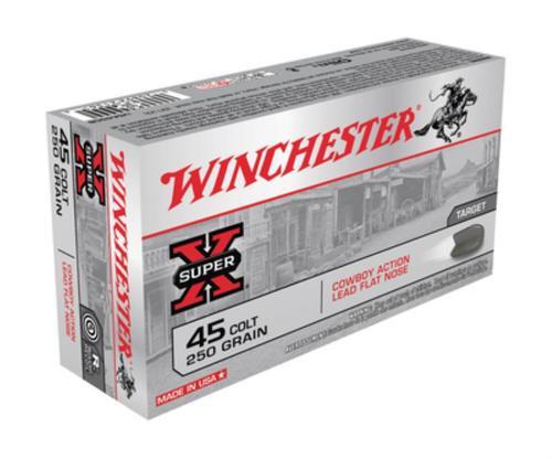 Winchester USA .45 Colt Lead 250gr, 50rd Box