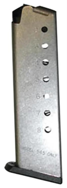Smith & Wesson 0000 Magazine S&W945 Performance Center 8rd 45 ACP Stainless Finish