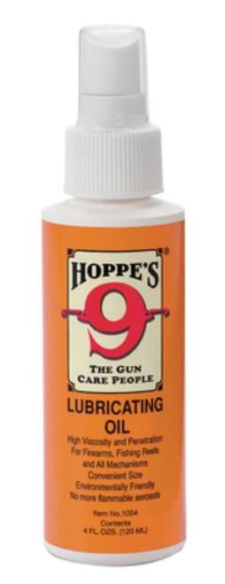 Hoppe's No. 9 Lubricating Oil, Liquid, 4oz Bottle