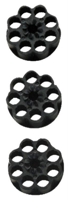 Crosman 1088 Spare Clips 8rd 177 Pellet/BB 3 Pack Black