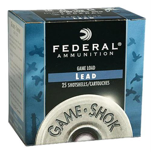 "Federal Game-Shok Heavy Field 12 Ga, 2.75"", 1-1/4oz, 7.5 Shot, 25rd/Box"