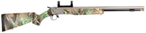 Cva Wolf Rifle .50 Ss/rt Hardwoods Syn., sights