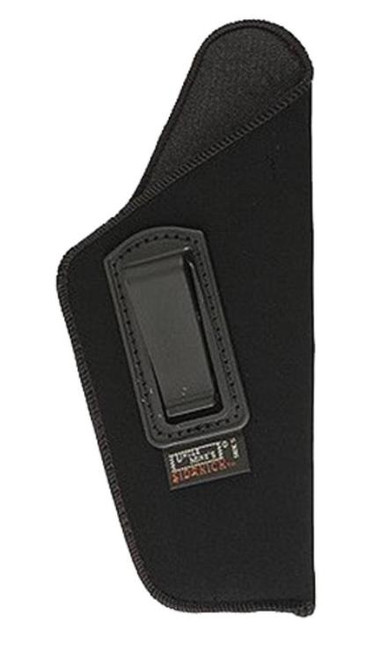 "Uncle Mike's Inside the Pants Holster 05-1, 4.5""-5"" Barrel Large Auto, RH, Black Soft Suede/Laminated"