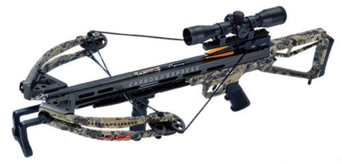 Carbon Express Covert CX-3 SL Crossbow 355 FPS 4x32mm Scope Camo