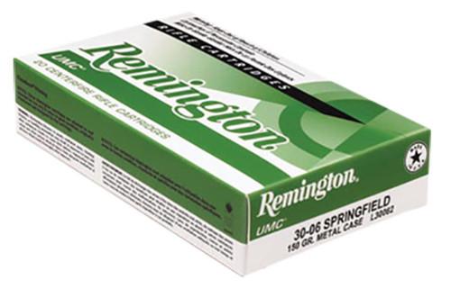 RemingtonUMC 30 Rem AR 123GR Metal Case 20Box/10Case