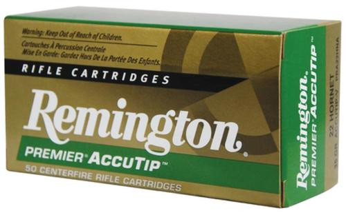 Remington .22 Hornet 35gr, AccuTip Varmint 50rd Box
