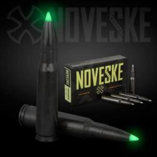 Nosler Noveske Ammunition 7.62x51mm 168gr, Ballistic Glow Tip 20rd Box