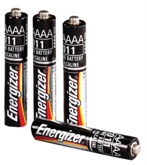 Streamlight Stylus Flashlight Pen/Batteries AAAA Silver