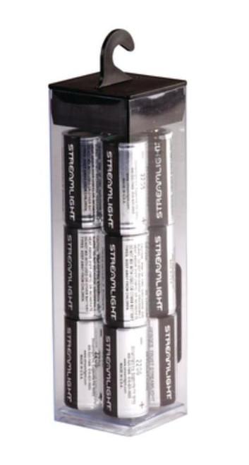 Streamlight Lithium Batteries, 3 Volt, 12 Pack