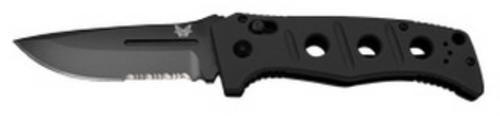 Benchmade 2750SBK Adamas Auto Black, Combo Edge *Rangers Lead the Way*