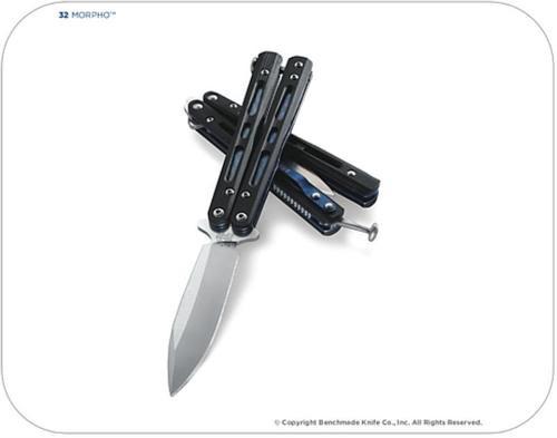 Benchmade MORPHO Bali-Song 3.25 Blade