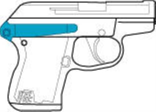 Kel-Tec B P32/P3AT Belt Clip B Black