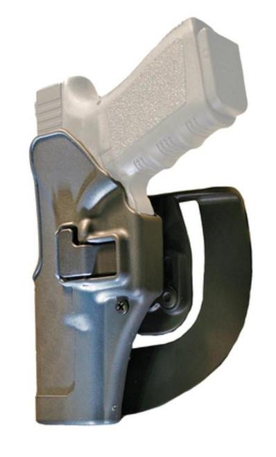 Blackhawk Serpa Sportster Holster Left-Handed For Glock 17,22,31 Gray Holster, Black Paddle