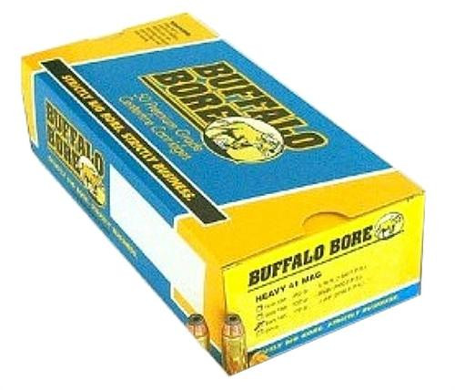 Buffalo Bore Ammo Handgun 41 Rem Mag Hard Cast 265 gr, 20rd Box