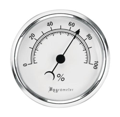Lockdown Vault Hygrometer with Fastener/Hook
