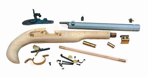 "Traditions Kentucky Pistol Kit Cap Lock 50 Black Powder 10"" Fxd Sights H-Wood Stock"