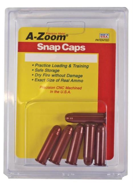 A-Zoom Snap Caps, Handgun Rounds 45 Colt, Aluminum, 6rd/Box