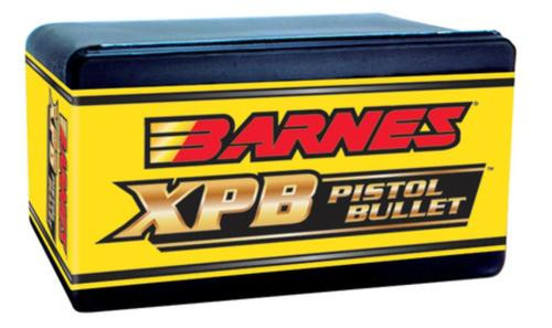 Barnes Pistol X-Bullets Lead Free .44 Caliber .429 Diameter 225 Grain 1:20 Inch Twist Or Faster Recommended 20rd/Box