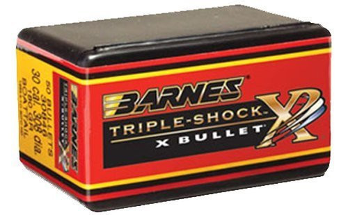 Barnes Triple-Shock X-Bullets Lead Free 7Mm Caliber .284 Diameter 175 Grain Flat Base