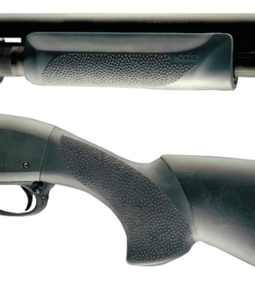 Hogue Overmold Shotgun Stock/Forend Remington 870, Black