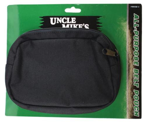 "Uncle Mike's All Purpose Belt Pouch 7"" W x 4 3/4"" H x 1 1/2"" D, Expands"