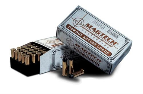 Magtech Cowboy Action .357 Magnum 158gr, Lead Flat Nose, 50rd Box