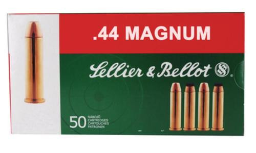 Sellier and Bellot 44 Rem. Mag. 240 SP 50Rd/Box