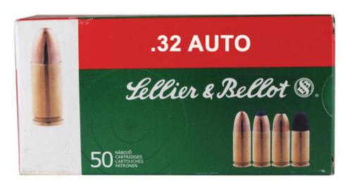 Sellier and Bellot 32 Auto/7.65 Browning 73 FMJ 50Rd/Box
